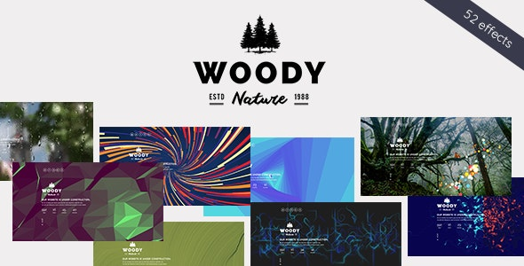 Woody - Exclusive Coming Soon WordPress Theme - Photography Creative