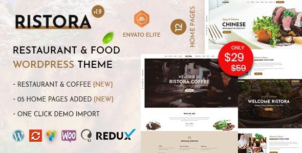 Ristora Theme Preview
