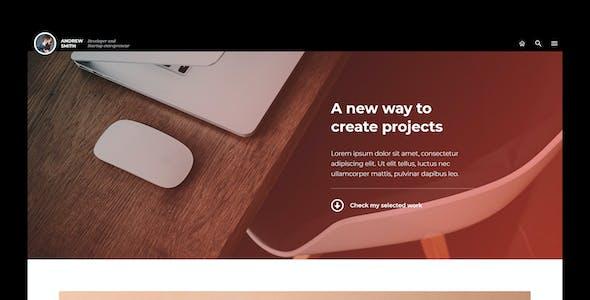FLO - Creative Portfolio & Resume Template Kit