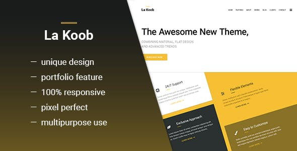 LaKoob - Multipurpose CV Template