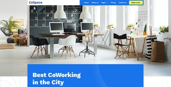 CoSpace Coworking - Modern Workspace