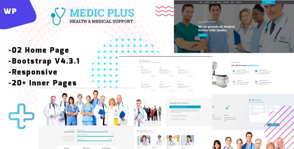 MedicPlus-Medical Theme