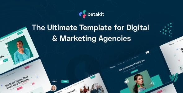 Betakit - Digital & Marketing Agencies Template - Software Technology