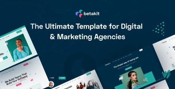Betakit - Digital & Marketing Agencies Template