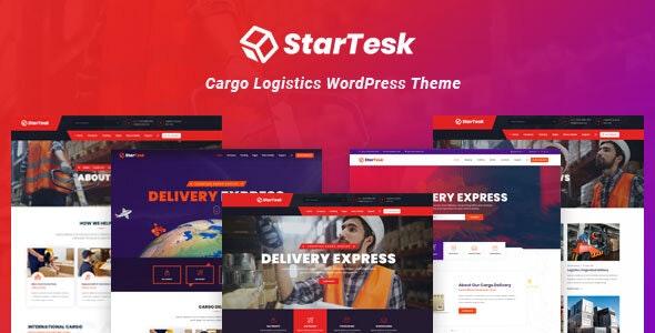 Startesk - Logistics & Transport WordPress Theme - Business Corporate
