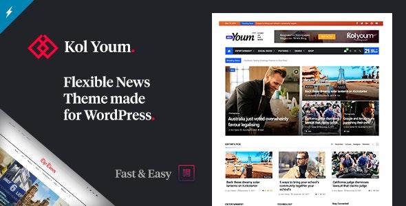 Newspaper Kolyoum - News / Editorial Blog / Magazine