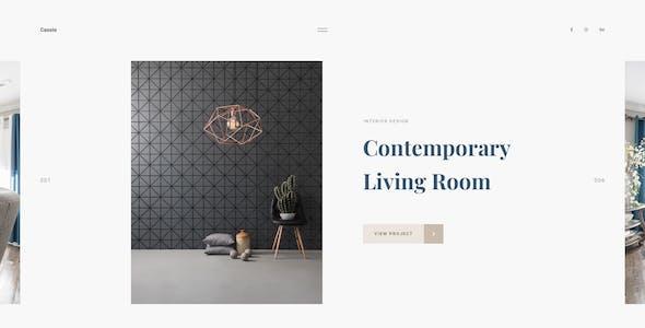 Cassio – Modern Architecture Figma Template