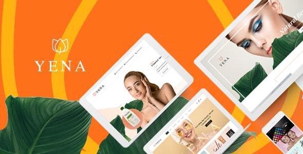 Yena Beauty & Cosmetic HTML Template