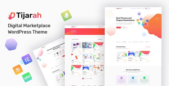 Tijarah | Digital Marketplace WooCommerce Theme - WooCommerce eCommerce