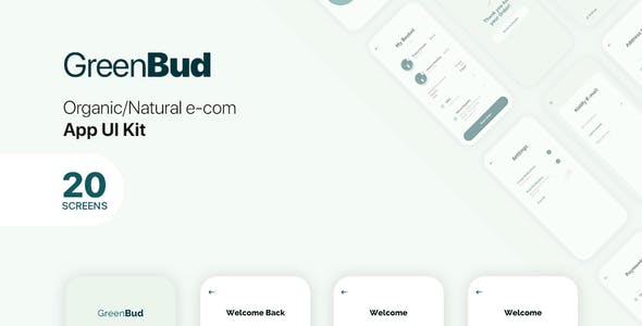GreenBud App UI Kit for Figma