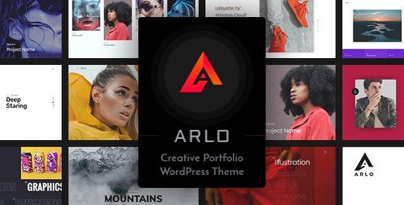 Arlo | Portfolio WordPress Theme by Frenify | ThemeForest