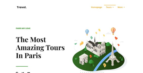 Touraza | Tour Elementor Template Kit