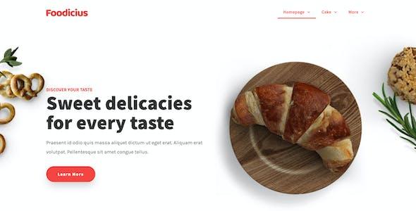 Fooditi | Restaurant & Cafe Elementor Template Kit