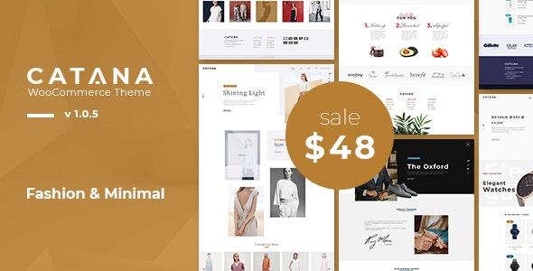 Catana - Fashion & Minimal WooCommerce WordPress Theme - WooCommerce eCommerce