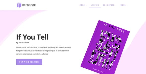 Novely | Book Store Elementor Template Kit