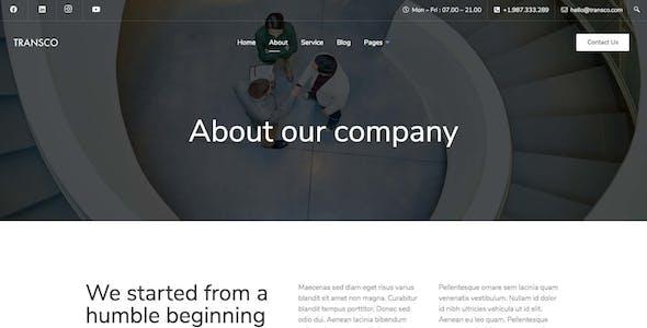 Transco - Business Elementor Template Kit