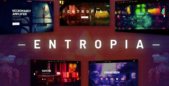 Entropia - Gaming and eSports Theme - Creative WordPress