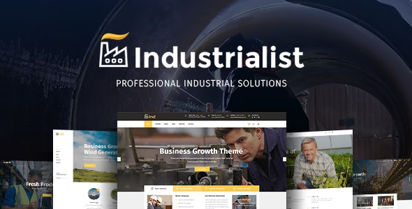 Industrialist - Industry & Manufacturing Theme - Business Corporate