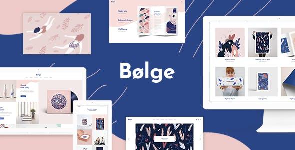 Bolge - Artist Portfolio Theme