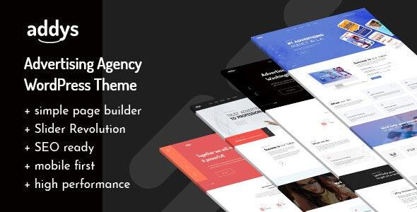 Addys - Advertising Agency WordPress Theme - Marketing Corporate