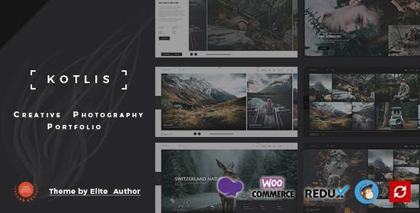 Kotlis -  Photography Portfolio WordPress Theme
