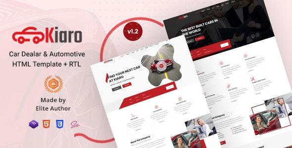 Kiaro - Car Dealer & Automotive HTML Template - Business Corporate