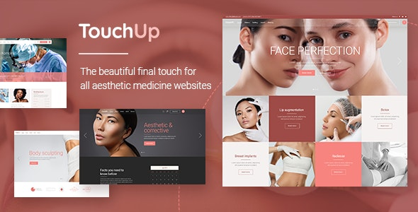 TouchUp - Cosmetic and Plastic Surgery Theme - Health & Beauty Retail