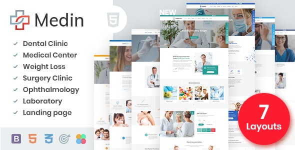medical bootstrap templates