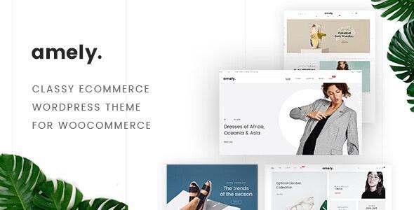 Fashion Shop WordPress Theme for WooCommerce - Amely - WooCommerce eCommerce