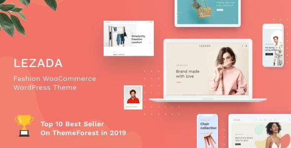 Lezada - Fashion WooCommerce WordPress Theme - WooCommerce eCommerce