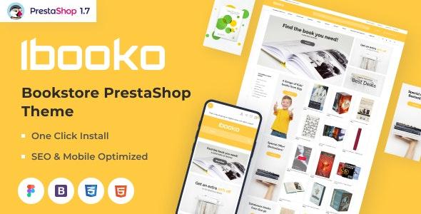 Ibooko - Responsive Bookstore PrestaShop Theme - Entertainment PrestaShop