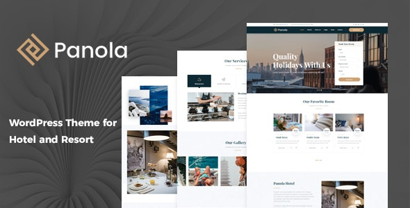 Panola : Resort and Hotel WordPress Theme - Travel Retail