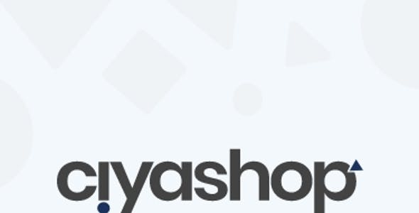 Ciyashop - eCommerce Application Adobe XD UI Kit