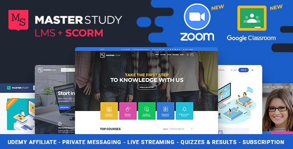 Education WordPress Theme - Masterstudy - Education WordPress