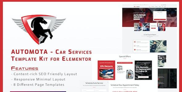 Automota - Car Repair Services Template Kit