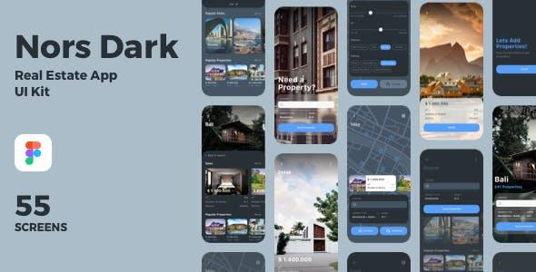 Nors Real Estate App UI Kit