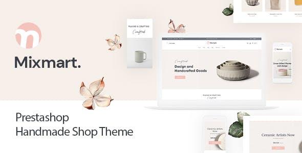 Mixmart Handmade Theme PrestaShop