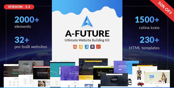 A Future - Creative Multi-purpose HTML Template - Corporate Site Templates