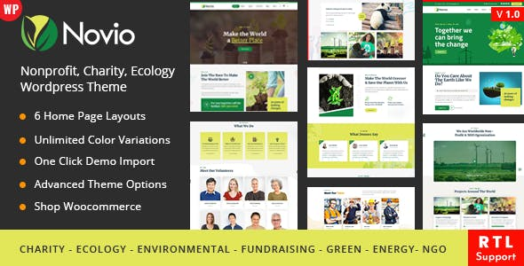 Download Novio - Charity Nonprofit