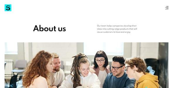 Slope – Agency & Studio PSD Template