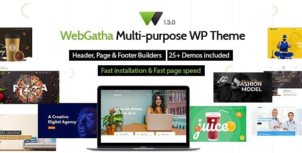 WebGatha Theme Preview
