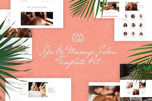 Jacqueline - Spa & Massage Salon Elementor Template Kit - Fashion & Beauty Elementor