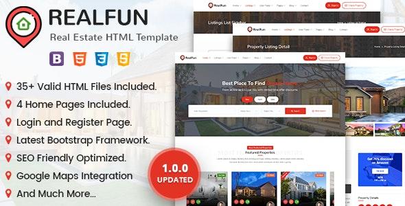 RealFun - Real Estate - Business Corporate