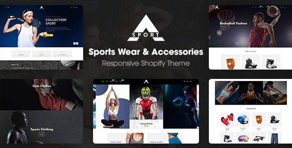 Asport - Sports Wear & Accessories Responsive Shopify Theme
