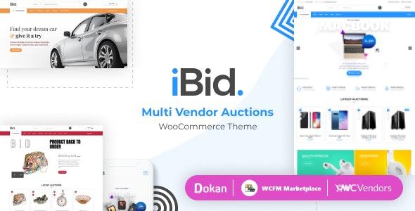 iBid Theme Preview