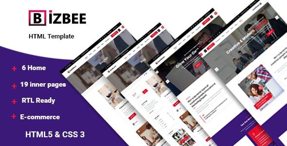 Bizbee - Multi-Purpose Corporate Template