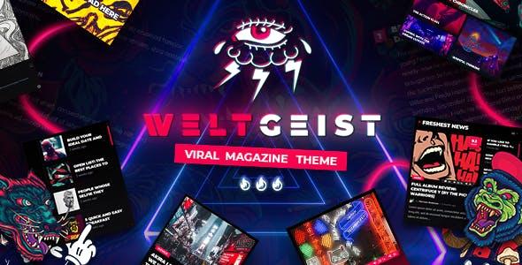 Download Weltgeist - Viral Magazine Theme