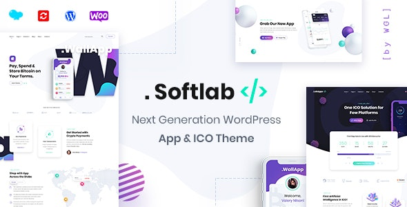 Softlab - Startup and App WordPress Theme - Software Technology
