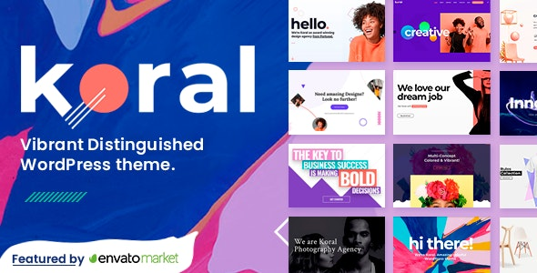 Koral - Multi-Concept WordPress Theme - Creative WordPress