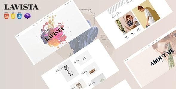 LAVISTA - Agency, Personal Template - Portfolio Creative